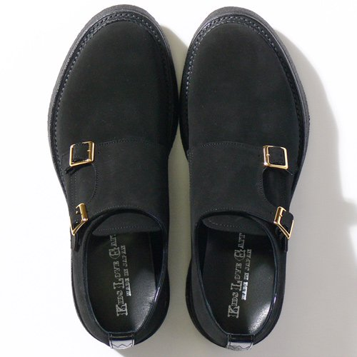 ベンデイビス KIDS LOVE GAITE W MONK STRAP(BLK) 詳細画像1
