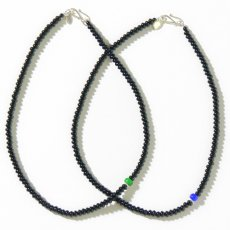 BEN DAVIS PROJECT LINE ONYX NECKLACE