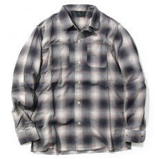 OMBRE CHECK SHIRTS (BK)