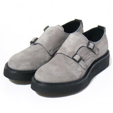 KIDS LOVE GAITE W MONK STRAP(GREY)