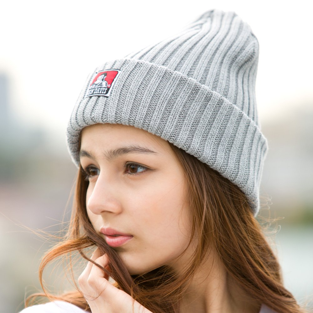 COTTON KNIT CAP (BLACK系)