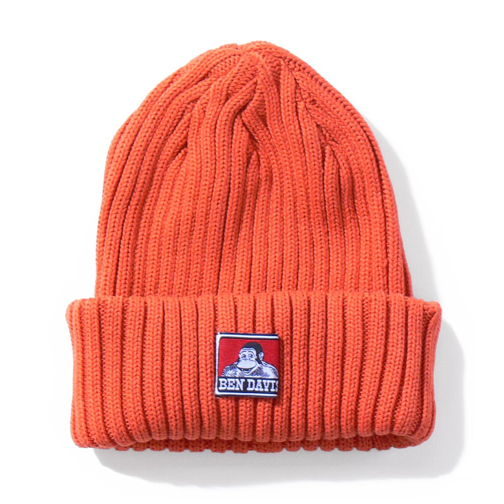 COTTON KNIT CAP (RED系)