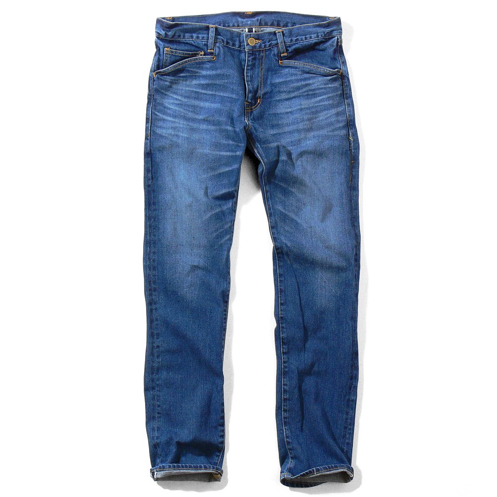 STRAIGHT JEAN REDLINE WASHED