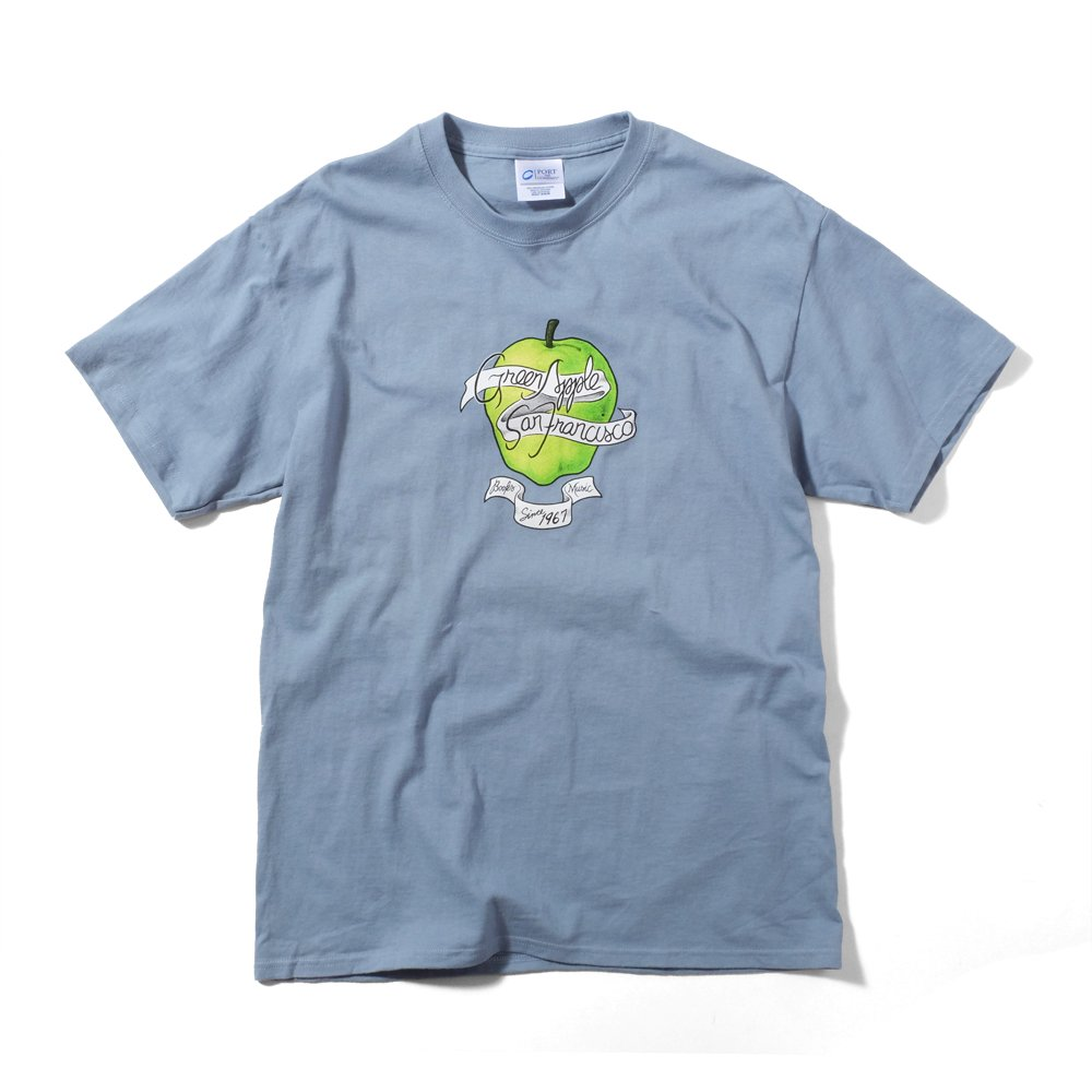 ベンデイビス GREEN APPLE BOOKS 35 ANNIVERSARY BLUE TEE 詳細画像