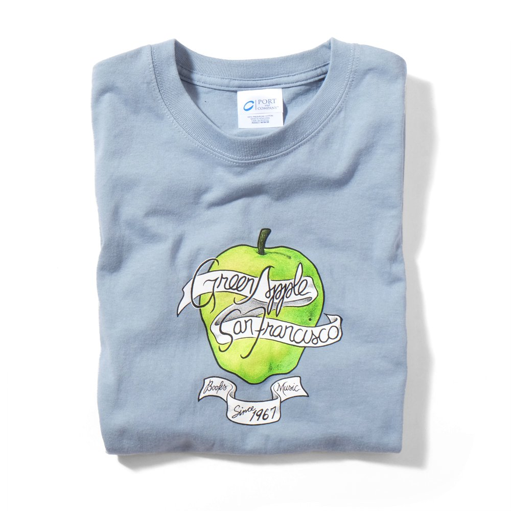 ベンデイビス GREEN APPLE BOOKS 35 ANNIVERSARY BLUE TEE 詳細画像1