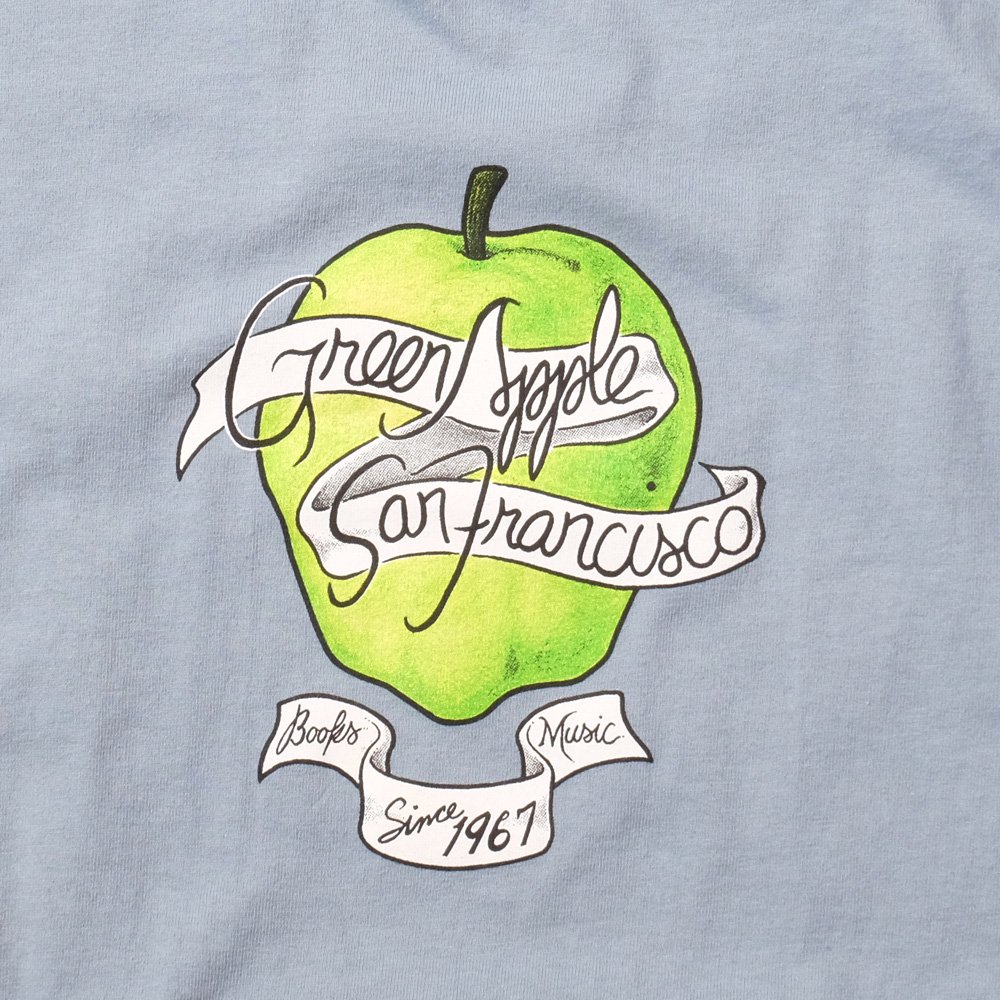 ベンデイビス GREEN APPLE BOOKS 35 ANNIVERSARY BLUE TEE 詳細画像2