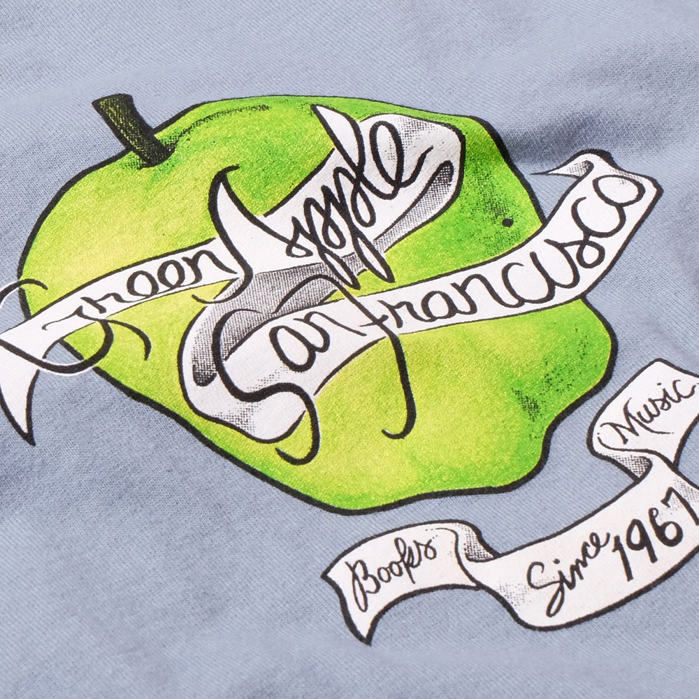 ベンデイビス GREEN APPLE BOOKS 35 ANNIVERSARY BLUE TEE 詳細画像3