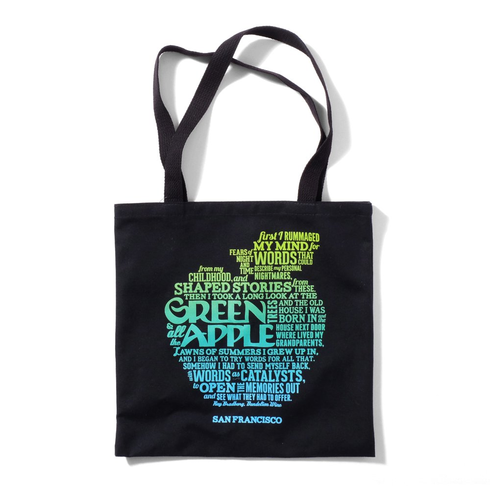 ベンデイビス GREEN APPLE BOOKS RAY BRADBURY TOTE 詳細画像