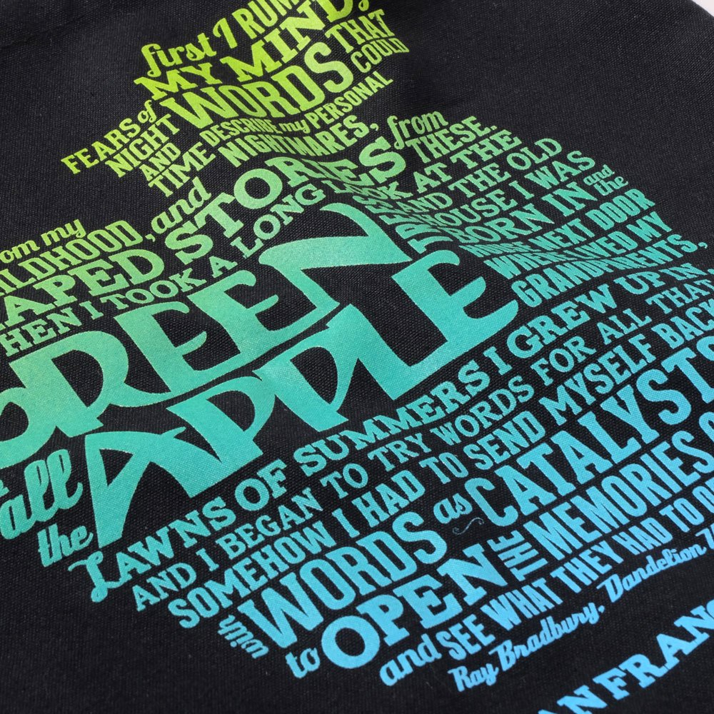 ベンデイビス GREEN APPLE BOOKS RAY BRADBURY TOTE 詳細画像1