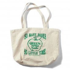 GREEN APPLE BOOKS ORIGINAL CANVAS BAG