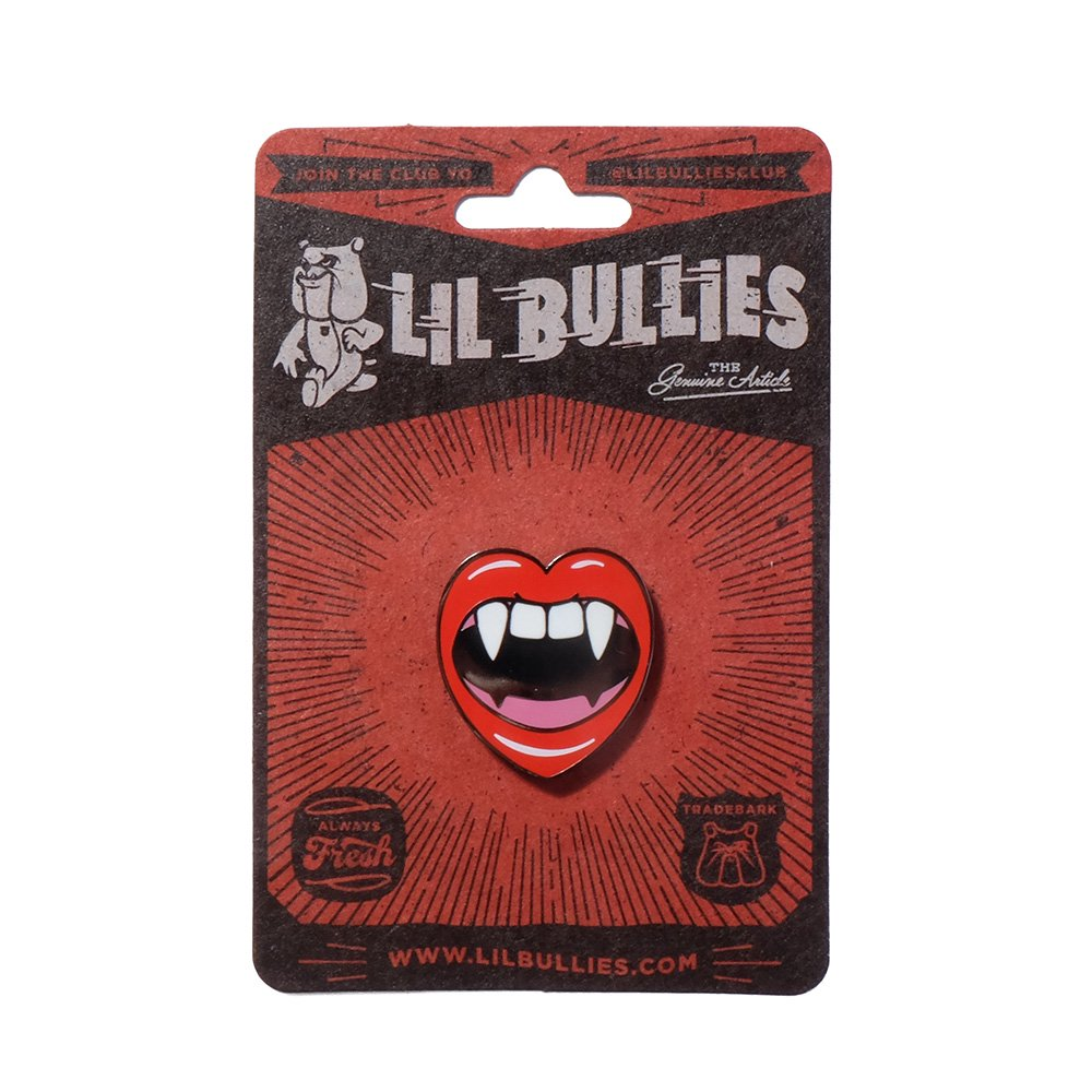 ILI BULLIES LAPEL PIN 2