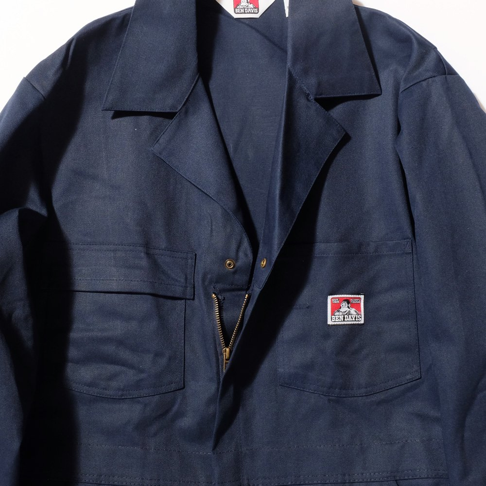 BEN DAVIS USA【ZIPPER FRONT COVERALLS】ツナギ