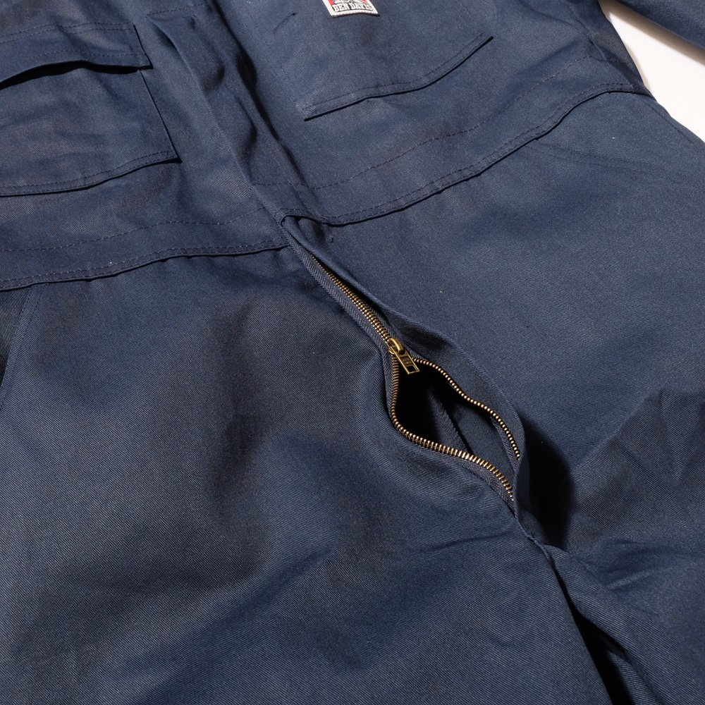 ZIPPER FRONT COVERALLS