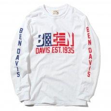 BEN DAVIS ORIGINALS - BEN FLAG L/S