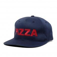 PIZZA SKATEBOARDS - BASIC LOGO SNAPBACK CAP