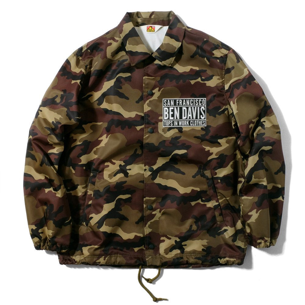 <img class='new_mark_img1' src='http://store.benchtyo.com/img/new/icons5.gif' style='border:none;display:inline;margin:0px;padding:0px;width:auto;' />BEN DAVIS PROJECT LINE - MISSION COACH JACKET CAMO