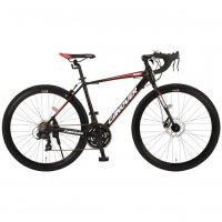 ロードバイク CAR-014-DC NERO ネロ 21段変速 700c 自転車 CANOVER カノーバー [直送品]
