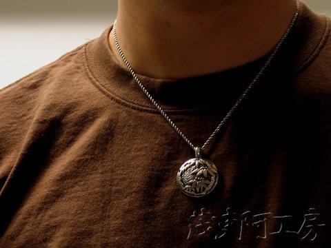 【和柄シルバーネックレス】笹竹トップ(SV925 / 約30mm) チェーン付き p_top30sasatake 画像4