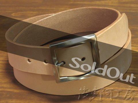 【ベンズプレーンバックルベルト】5.0mm厚 bpb_belt