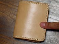 【プレーンハーフウォレット - 革二つ折り財布】HW88 HW88